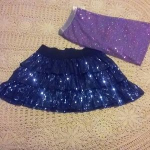 Sequined Skirt Bundle
